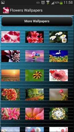 Красивые HD обои Flowers Wallpapers для Android