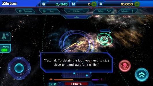 Исследуем просторы Galactic Phantasy Prelude для Android
