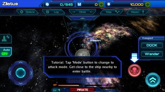 Выбор миссии - Galactic Phantasy Prelude для Android