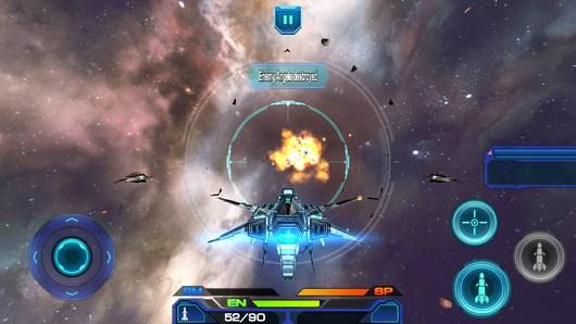 Недруг подбит - Galactic Phantasy Prelude для Android