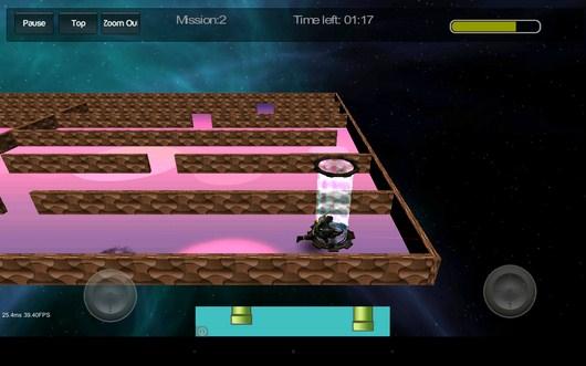 Конец уровня - Gangstar Maze для Android