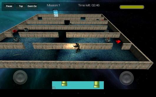 Начало битвы - Gangstar Maze для Android