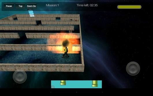 Первый враг убит - Gangstar Maze для Android