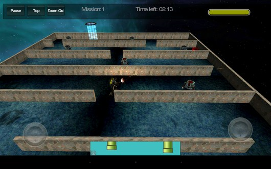 Проходим лабиринт - Gangstar Maze для Android