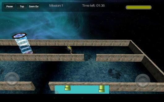 Бежим к финишу - Gangstar Maze для Android