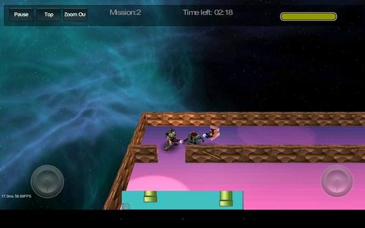 Бой с роботами - Gangstar Maze для Android