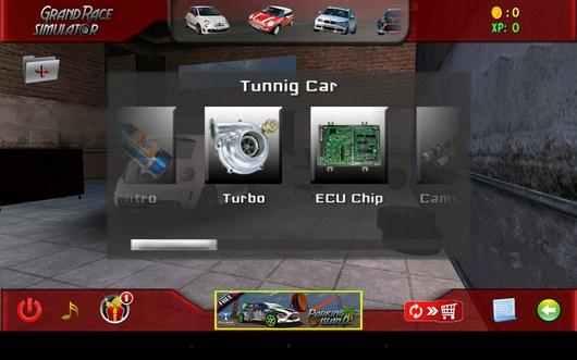 Апгрейд машины Grand Race Simulator 3D для Android