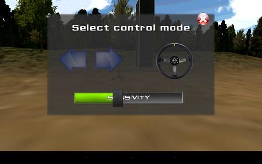 Рулевое управление - Grand Race Simulator 3D для Android