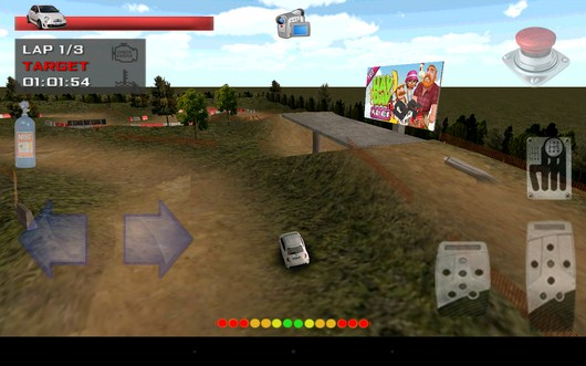 Вид камеры с высоты - Grand Race Simulator 3D для Android