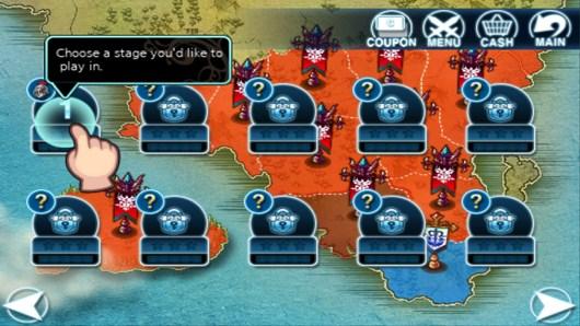 Выбор миссии в Heroes Of The Kingdom для Android