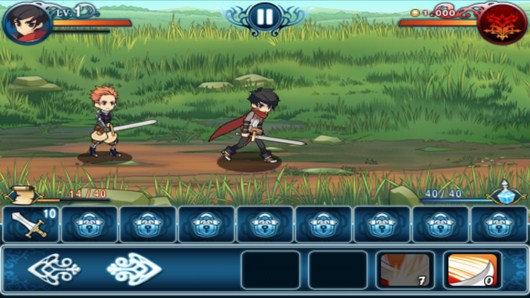 Начало сражения - Heroes Of The Kingdom для Android