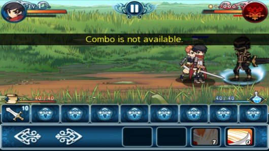 Бой с боссом - Heroes Of The Kingdom для Android