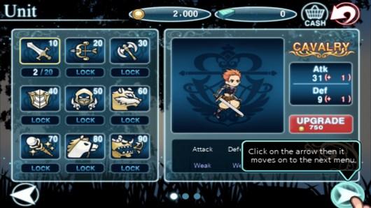 Heroes Of Прокачка умений персонажа - The Kingdom для Android