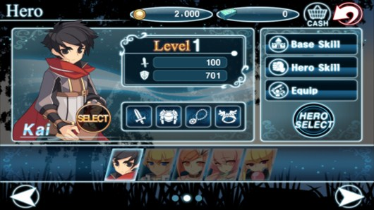Информация о персонаже - Heroes Of The Kingdom для Android