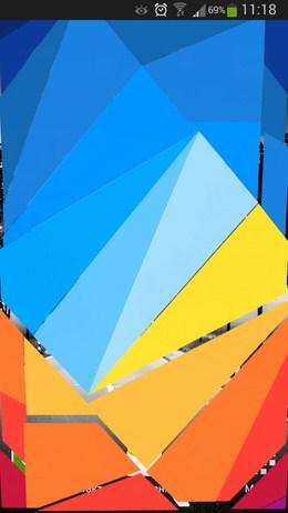 Эффект при разблокировании дисплея - Hit color Locker для Android