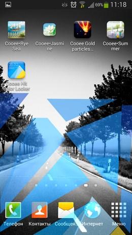Рассыпающиеся треугольники - Hit color Locker для Android