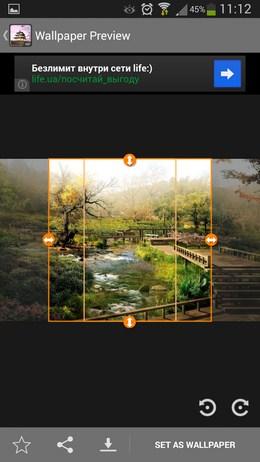 Выбор размера для установки - Japan HD Wallpapers для Android