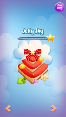 Выбор этапов в Jelly Slice для Android