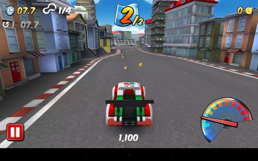 Мини игра гонки - LEGO City My City для Android