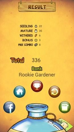 Результаты уровня - Mandora для Android