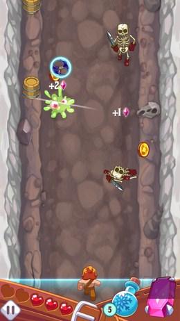 Цепное поражение - Monster Slash для Android