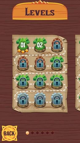 Выбор уровня - Monster Slash для Android