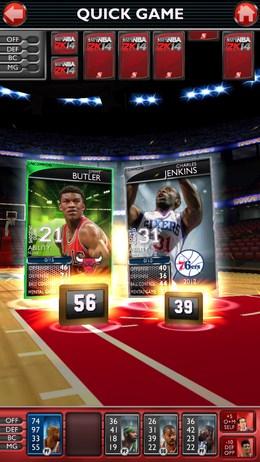 Ручной режим игры - NBA 2K14 для Android