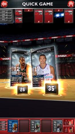 Спортивное сражение - NBA 2K14 для Android