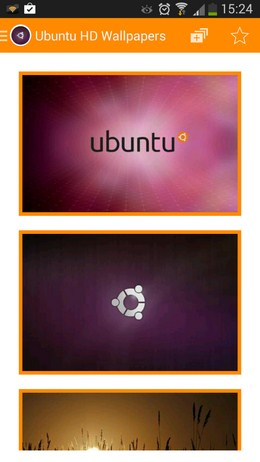 Набор обоев Обои Ubuntu HD для Android