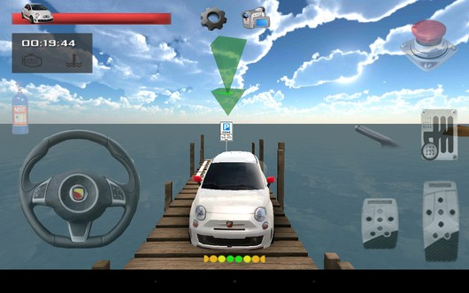 Заезжаем задом - Parking Island 3D для Android