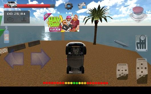 Вылетаем с трамплина - Parking Island 3D для Android