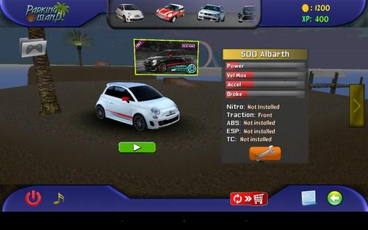 Выбираем машину - Parking Island 3D для Android