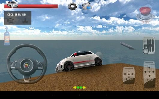 Машина падает с обрыва - Parking Island 3D для Android