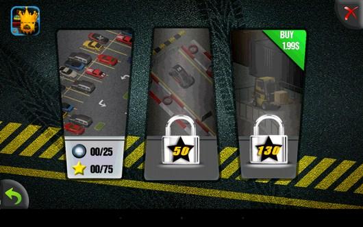 Выбор локации - Parking Madness для Android