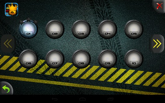Доступные заезды - Parking Madness для Android