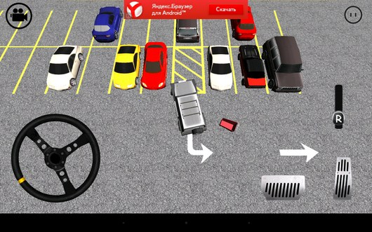 Задний ход - Parking Madness для Android