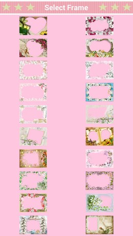 Множество красивых рамок - Photo Frame для Android
