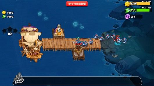 Новая атака врага - Pirates Journey для Android