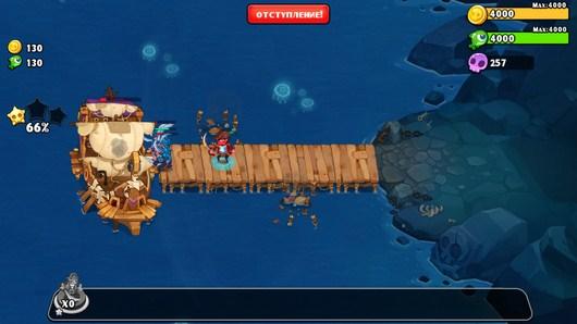 Добиваем его корабль - Pirates Journey для Android