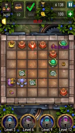 Усложнение уровня - Prime World: Alchemy для Android