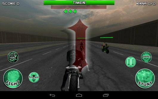 Начало гонки - Race, Stunt, Fight, Reload! для Android
