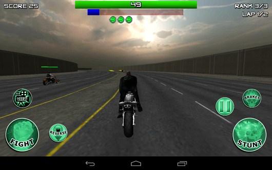 Делаем трюк - Race, Stunt, Fight, Reload! для Android