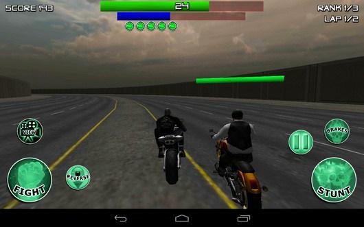 Удар соперника - Race, Stunt, Fight, Reload! для Android