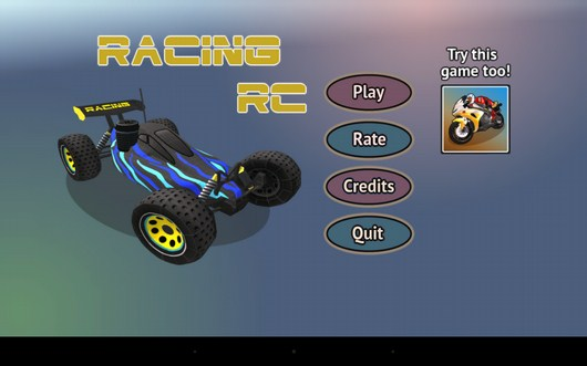 Гонки на дистанционных машинках Racing RC для Android