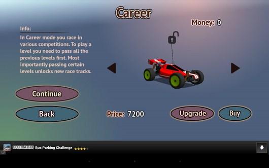 Выбираем машинку - Racing RC для Android
