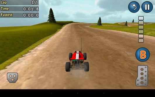 Начало гонки на время - Racing RC для Android