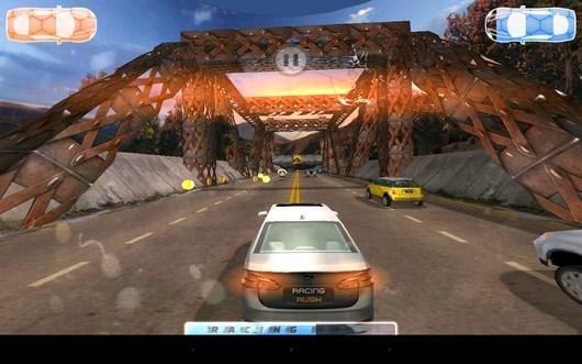 Конец заезда - Racing Rush 3D: Death Road для Android