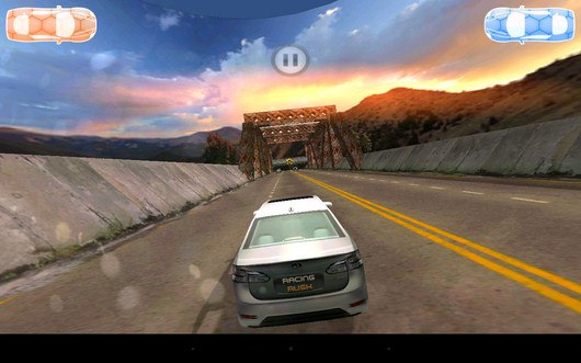 Начало заезда - Racing Rush 3D: Death Road для Android