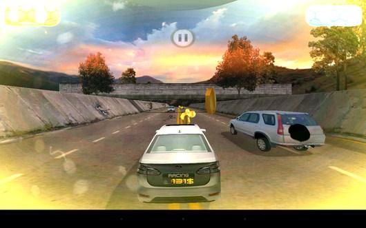 Объезд препятсвия - Racing Rush 3D: Death Road для Android