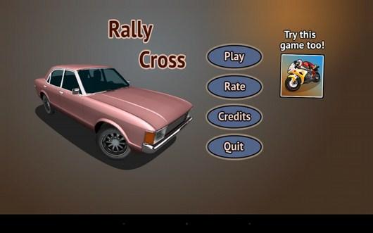 Симулятор гонок Rally Cross для Android
